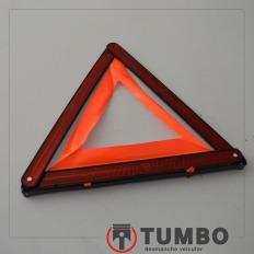 Triângulo de segurança da Amarok 4x4 2014 Biturbo