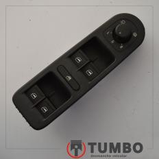 Botão comando do vidro dianteiro esquerdo da Amarok 4x4 2014 Biturbo