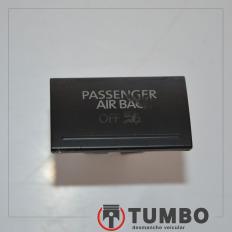 Botão interruptor passenger airbag da Amarok 4x4 2014 Biturbo