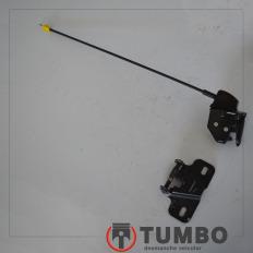 Conjunto de fechadura e batente da tampa interna esquerda da Renault Master 2.3