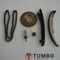 Kit corrente comando do Fiat Bravo 1.8