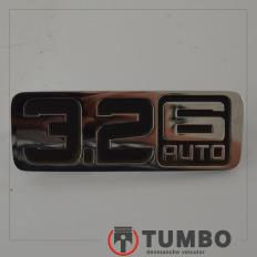 Emblema 3.2 6 AUTO da Ranger XLT 3.2 Automática 2018