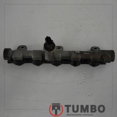 Flauta injetora tubo rail com sensor da Renault Master 2.3