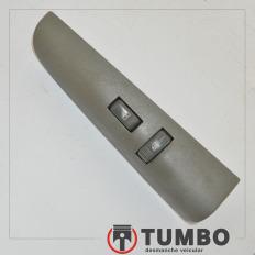 Moldura botão vidro elétrico dianteiro direito da S10 até 2001