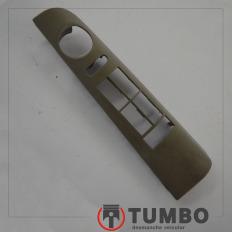 Moldura botão vidro elétrico dianteiro esquerdo da S10 até 2001