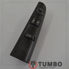botão comando vidro elétrico esquerdo da s10 até 2011 cabine simples