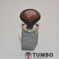 Botão interruptor do pisca alerta da Kombi 1.4 flex