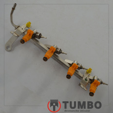 Flauta com bicos injetores do Ford KA 2013/... 1.5