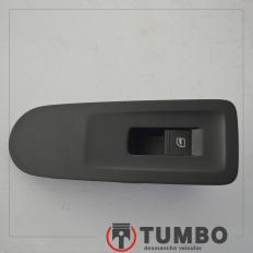 Botão do vidro direito com moldura do VW UP 1.0