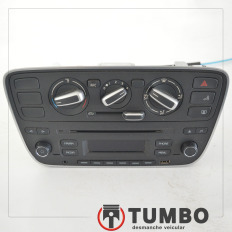 Rádio com comando ar condicionado do VW UP 1.0