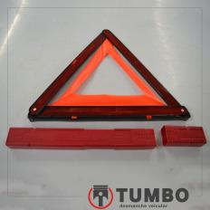 Triângulo de segurança da Amarok 2015 biturbo 4x4 high