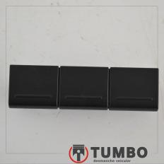 Botão tampão falso do painel 2H0858193 da Amarok 2015 biturbo 4x4 high