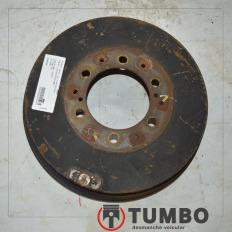 Tambor de freio traseiro da Hilux CD 2009 3.0 4x4