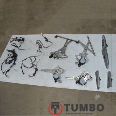 Kit de vidros com forro de portas da Hilux 05/06 3.0 163CV 4x4 Diesel