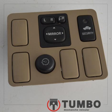 Acabamento com botões espelho elétrico alarme da Hilux SW4 2011 4x4 3.0 aut