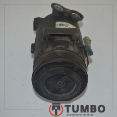 Compressor do ar condicionado Delphi da S10 2.4 2011 Flex